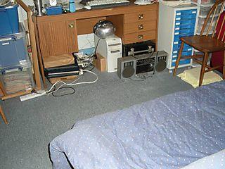 Desk area 650