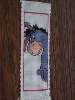 Eeyore bookmark sent to bettie