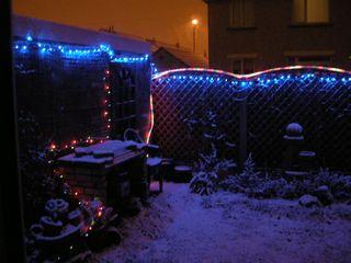 Snowy grotto