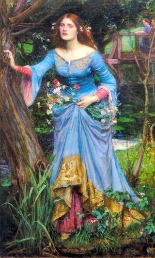 Waterhouse ophelia haedesign