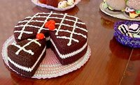 Free Cake Knitting Patterns : Knitting By The Sea: Knitted Cake