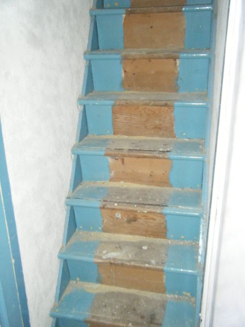 Attic Makeover Stairs To The Attic