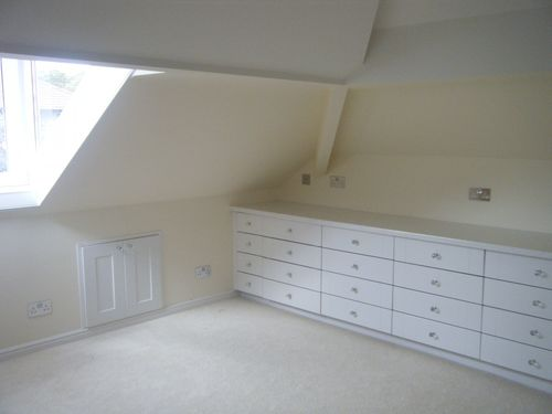 Drawers before top and mirrors