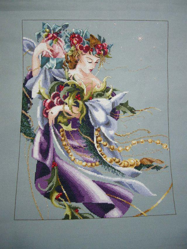 Christmas Florishes Finished 2011